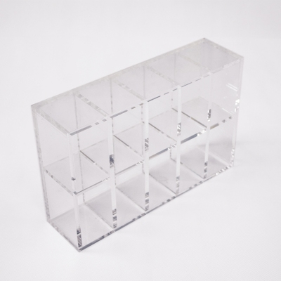 Custom Sizes Multi-tiers Clear Acrylic Ornaments Boutique Cosmetics Display Stand